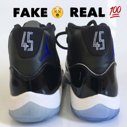 ae2a4a65af6 2016 SPACE JAM REAL VS FAKE - SNEAKER LEGIT CHECKS HERE